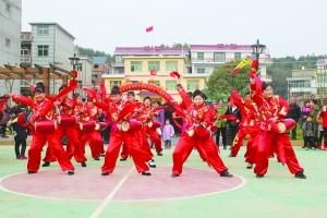 万年多彩民俗活动迎新春