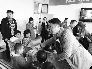 婺源县特殊教育学校开展志愿服务活动