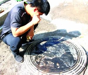 方圆之地显城市之美 饶城文化浮雕井盖上街啦