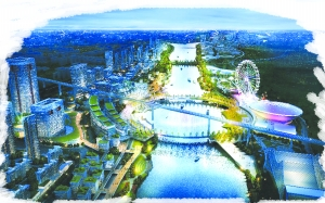 美在信江水  ——上饶市城东文化旅游综合体项目胜利片区棚改纪实