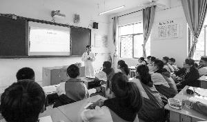 市疾控中心:  结核病防治宣传进校园