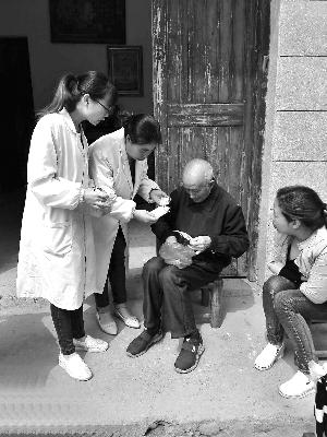 上饶县创新方式服务慢性病患者