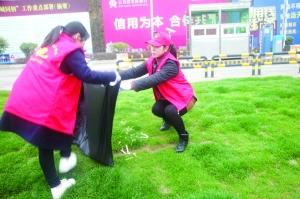 德兴农商银行开展了环保公益活动