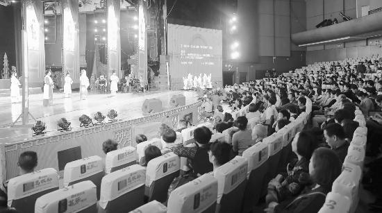 我市革新开放40周年京剧专场演唱会在市艺术中央举行