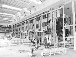 上饶工厂智能制造生产线明年初贯通