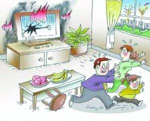 """電視機意外爆炸 雖逾""""三包""""期仍獲賠"""