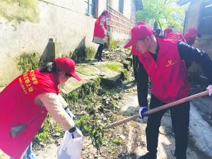 開展義務打掃衛生活動
