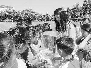 德興:  科普大篷車進校園