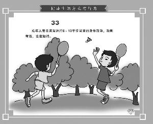 中國公民健康素養66條解讀  (十二)