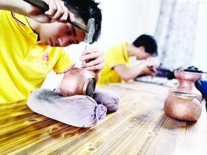 傳承發展手工銅藝