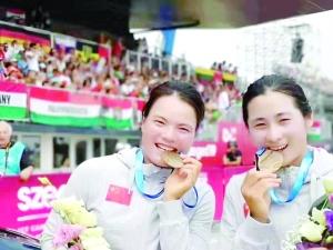 上饶健儿勇夺皮划艇世锦赛金牌 挺进东京奥运会