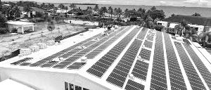 晶科能源向哥伦比亚和斐济提供高效组件
