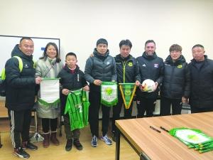 广丰11岁少年追梦国足 签约中赫国安足球俱乐部