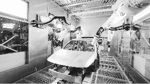 看看爱驰汽车的超级智慧工厂