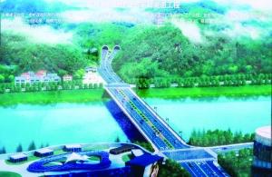 饶城将建第一座城市隧道 双向四车道长550米