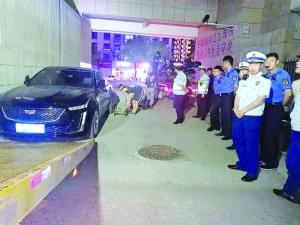 占用堵塞小区消防通道92辆汽车68辆电动车被拖离