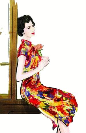 款款而来的旗袍之美