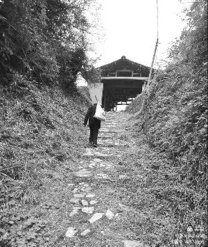 陈坊的千年古驿道