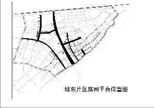 城东片区七条道路火热建设中
