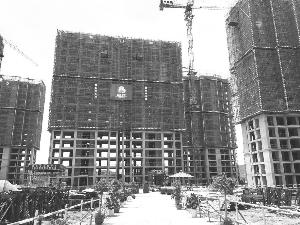 稼轩花园安置小区建设稳步推进中