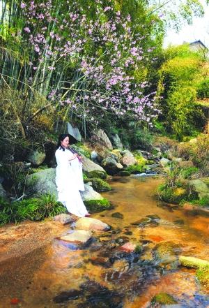 春天 邂逅油菜花还是那位姑娘  摄影爱好者齐聚乡村涉猎美景