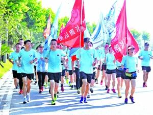 千人健康悦跑 传递禁毒正能量