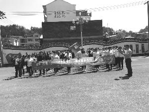 東市街道開展 緬懷革命先烈活動